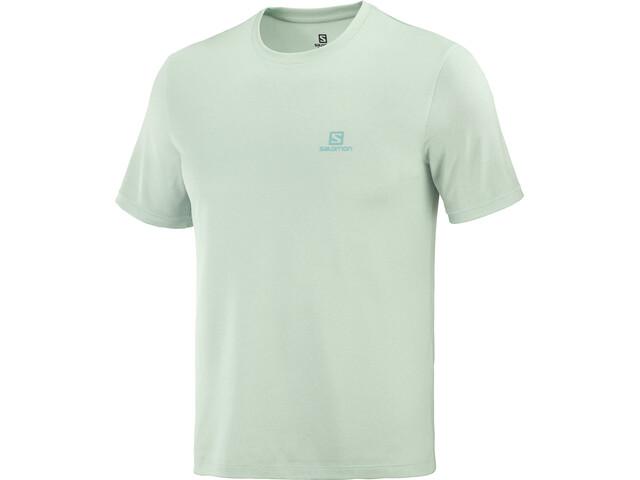 Salomon Explr SS Tee Men, harbor gray/opal blue/heather